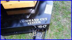 Cub Cadet Commercial Recon 60 Zero Turn Mower 25HP Kohler Engine