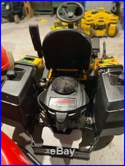 Cub Cadet Z Force Sz Zero Turn Kawasaki Engine Ride On Lawn Mower