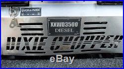 DIXIE CHOPPER XXWD3500-72 Zero Turn Mower Diesel Yanmar Engine