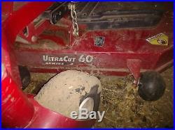 Exmark 60 zero turn mower