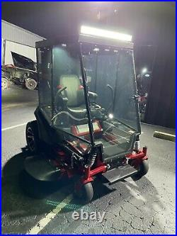 Ferris Is-2100z Zero Turn Cab Mower With Air Conditioned Cab
