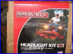GRAVELY ZERO TURN HEADLIGHT KIT LIGHT KIT PT# 79202700 PM PT HD series models