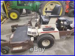 Grasshopper 718 zero turn lawn mower with 52 deck