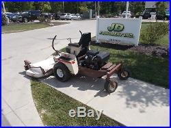 Grasshopper Model 720k 61 Deck Front Mower Zero-turn Nastock# 164544