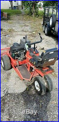 Gravely Zero Turn Riding Lawn Mower Smooth Cutting on Field and Highway Strips