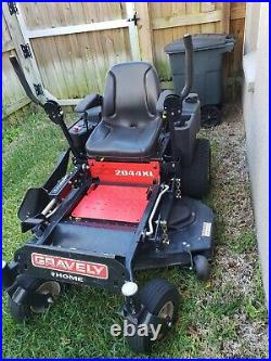 Gravely zero turn mower