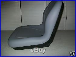 Gray Seat For Hustler, Jacobsen, Toro, Dixie Chopper, Zero Turn, Front Mowers #cg