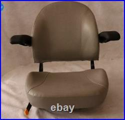 Gray, Silver, Ultra High Back Seat C1110 Exmark, Toro Zero Turn Mowers #TG