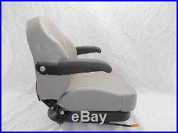 Gray Ultra Ride Suspension Seat I3m Fits Exmark, Toro Zero Turn Mowers Ztr #i3ms