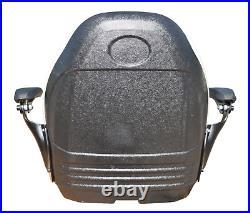 Gray Zero Turn Lawn Mower Seat Armrests Bobcat Dixie Snapper Toro Exmark Bad Boy