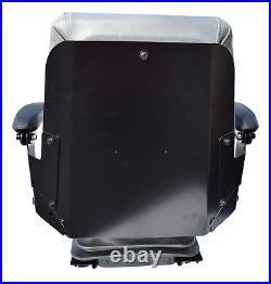 Gray Zero Turn Mower Suspension Seat Bobcat Dixie Snapper Toro Exmark Bad Boy