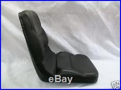 High Back Black Seat For Walker Zero Turn Mowers Ztr #iz