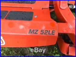 Husqvarna MZ52LE zero turn mower New left over factory warranty