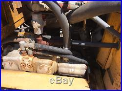 Hustler Excel Slope Mower 640 Hillsider! Diesel! With Snow Plow Attachment