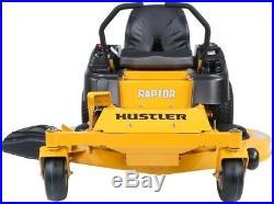 Hustler Raptor 23-HP V-twin Dual Hydrostatic 52-in Zero-turn Lawn Mower With
