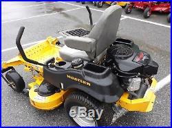 Hustler Raptor SD 48 deck 23 HP Kawasaki 932566 used ZT zeroturn mower 202 hrs