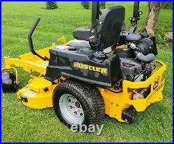 Hustler X-one 52in Zero Turn Commercial Mower Kaw Fx850v Eng 27hp Low Hrs