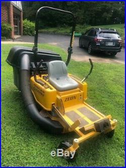 Hustler Zeon Electric, Zero-Turn, Riding Lawn Mower