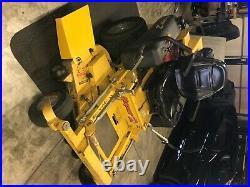 Hustler Zero Turn Mower. 52 inch deck. Honda Engine and Suspension Seat upgrade