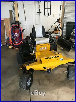 Hustler commercial zero turn mower 54 in deck