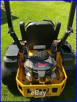 Hustler zero turn mower 54 in deck Kawasaki motor 67 hours