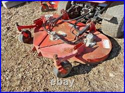 Jacobsen Hr-5111 Bat Wing Mower 4wd Diesel Engine Zero Turn Cut