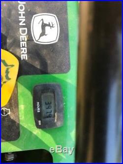 John Deere 652R Quiktrak Stand On Mower