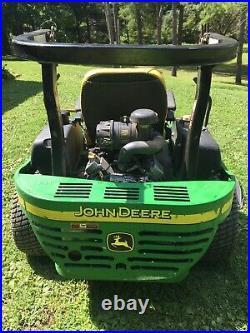 John Deere 757 Zero Turn Lawn Mower Z757 Kawasaki 25hp 60 Inch 7 Iron Deck