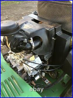 John Deere 777 Ztrak Zero Turn Lawn Mower 72 Deck Kawasaki 27HP Twin Engine