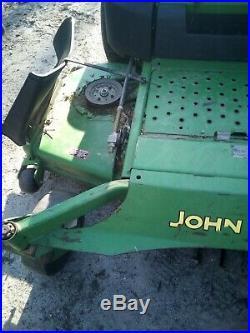 John Deere 997 Commercial Diesel ZTR Mulch Zero Turn 72 Deck Moderate Hours
