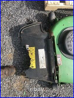 John Deere 997 ZERO TURN 72 Mower Deck WithGEAR BOX AND DRIVE SHAFT