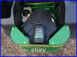John Deere Commercial Z645 Zero Turn Mower 27HP 48 Inch Deck 398 H Serviced