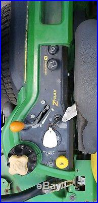 John Deere Commercial Zero Turn Z950A 2013 890 Hours Runs Mowes Great 27 hp 60