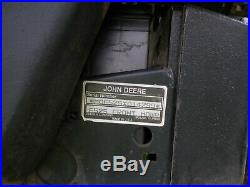 John Deere F525 Zero Turn Front Mower 46 Inch Deck Hydro Drive Just Serviced