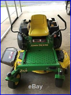 John Deere Z425 Zero Turn Mower Only 161 hours