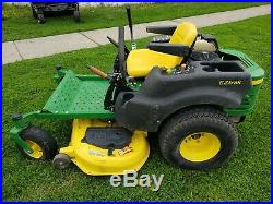 John Deere Z425 Zero turn riding lawn mower, 48 deck runs great Briggs engine