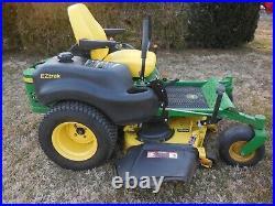 John Deere Z645 Zero Turn Mower 27HP 48 Inch Deck 398 Hours Serviced