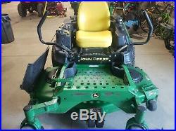 John Deere Z920m Commercial Zero Turn Mower 60 Deck Kawasaki Engine 1700 Hours