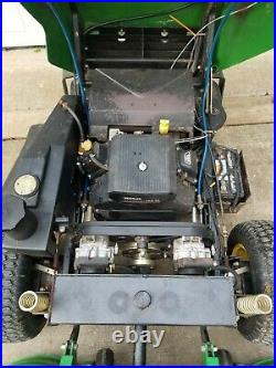 John Deere Zero Turn F680 23hp Z Trak Front Cut Mower with X blades Clean