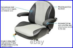KM 1110 Uni Pro Seat Assembly Ferris Zero Turn Lawn Mower Turf Equipment USA