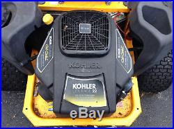 Kohler Cub Cadet RZT 50 Zero-Turn Riding Mower LOCAL PICK UP ONLY