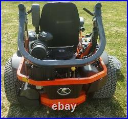 Kubota Z781k 60in Zero Turn Mower 30hp Kawaski Efi Eng Full Sus Seating Low Hrs