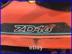 Kubota ZD18F Diesel Zero Turn Riding Mower