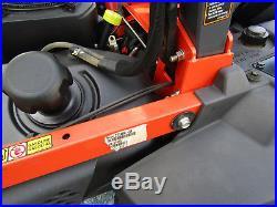 Kubota Z 724 KW Zero Turn 24 hp. Kohler Gas 54 Rotary Mower 187 hrs