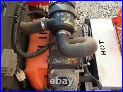 Kubota Zg227 Zero Turn Mower, 54 Deck, 162 Hours, 27 HP Gas, 9 Mph Top Speed