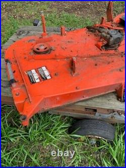 Kubota zero turn mower deck for zd331 72 inch