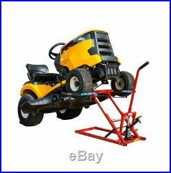 Lawn Mower Jack Lift Riding Tractor Zero Turn Maintenance Hydraulic Foot Pedal