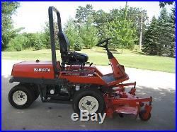 Lawn tractor kubota zero turn diesel fz2100 4WD