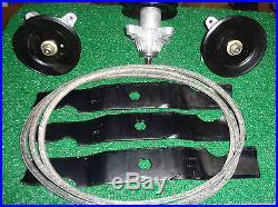 MTD 50 RZT HD Zero Turn Mower Deck Rebuild KIt 742-04053a 918-04126a 954-04044