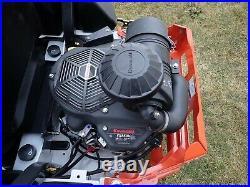 New Bobcat Zt6100 Zero Turn Mower, 61 Airfx Deck, 852 CC Kawasaki Gas Eng